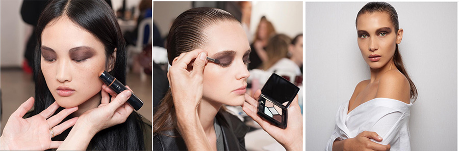 Dior Makeup collection for Autumn 2016 applied