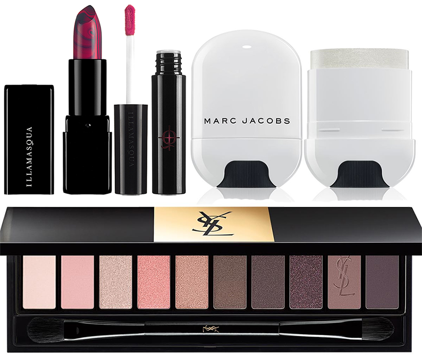 SS16 Makeup for Face, Lips and Eyes YSL, Illamasqua and Marc Jacobs