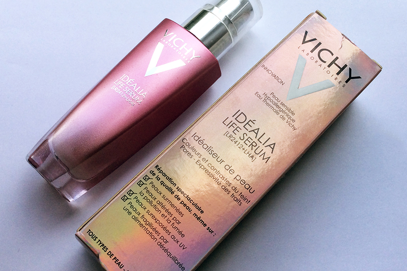 Vichy Idealia Skin Serum Review and swatches