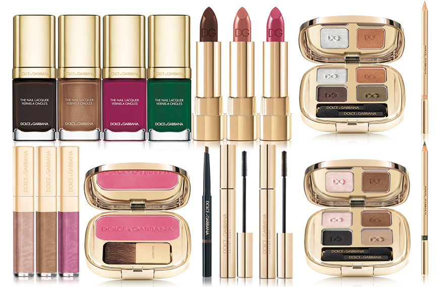 Dolce & Gabbana Mad About Fall Makeup Collection for Autumn 2016 products