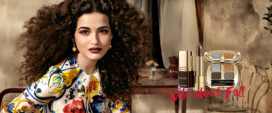 Dolce & Gabbana Mad About Fall Makeup Collection for Autumn 2016 promo