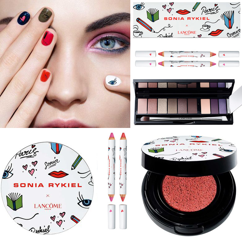 Lancome x Sonia Rykiel Makeup Collection for Autumn 2016 cool