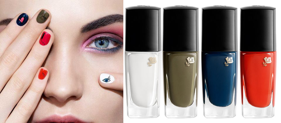 Lancome x Sonia Rykiel Makeup Collection for Autumn 2016 vernis in love