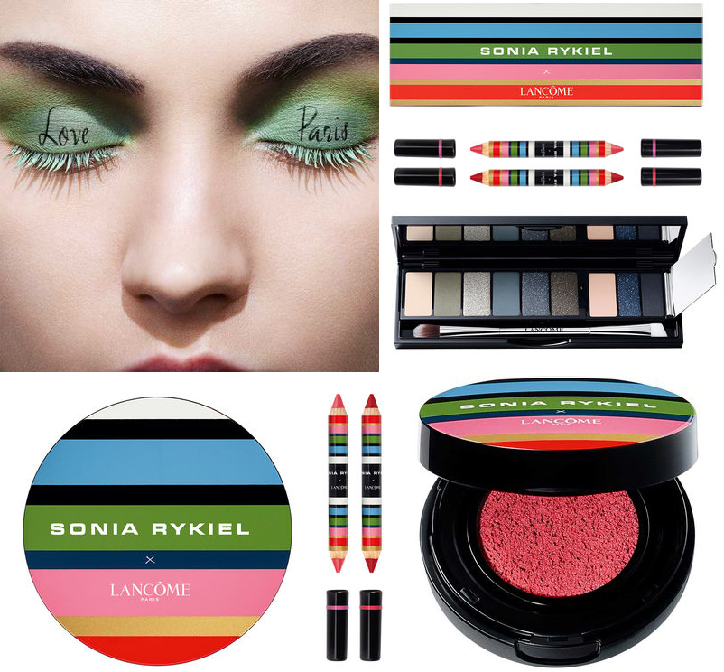 Lancome x Sonia Rykiel Makeup Collection for Autumn 2016 warm