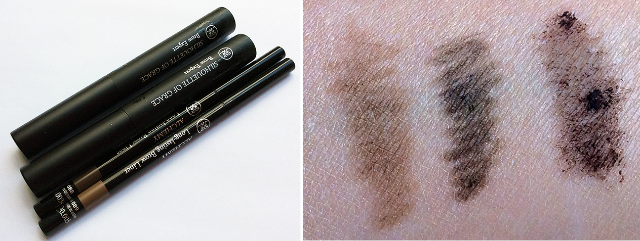 Rouge Bunny Rouge Eye Brow Products Review and Swatches 1