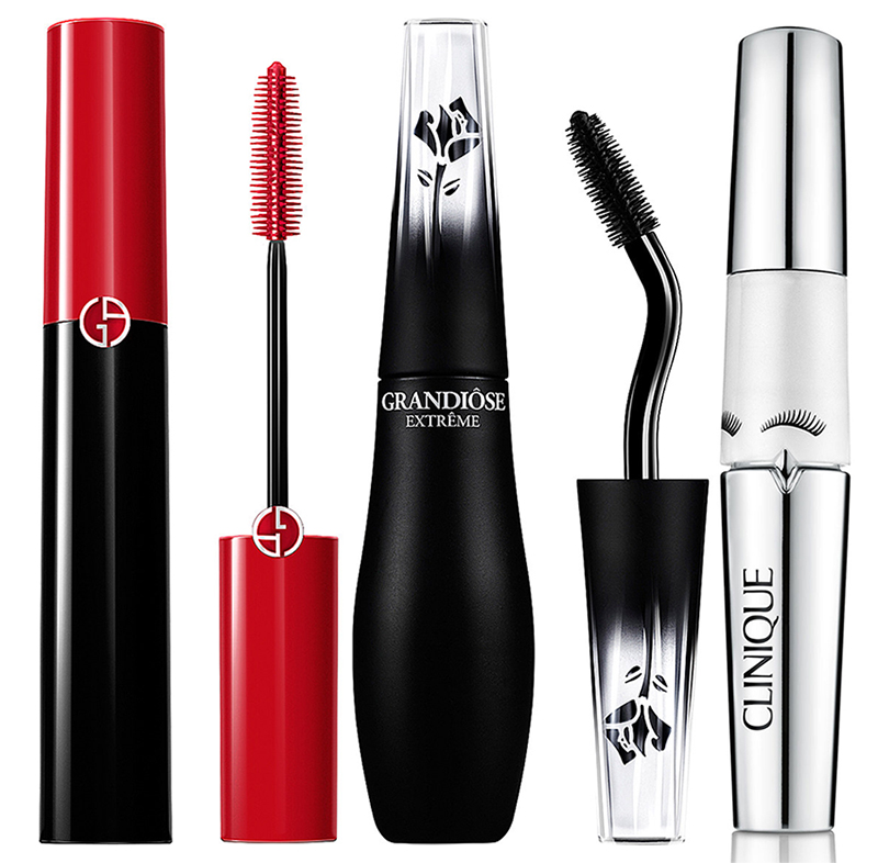 SS16 New Eye Products Lancome, Armani, and Clinique mascaras