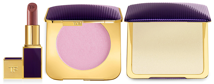 Tom Ford Velvet Orchid lipstick perfume and powder for Autumn 2016
