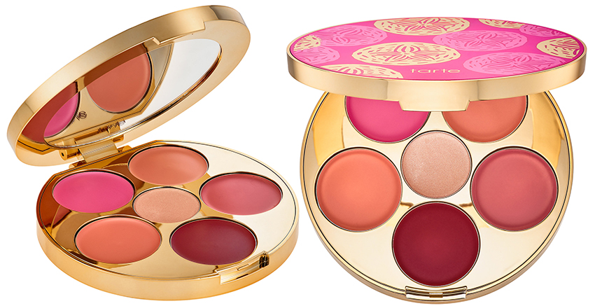 tarte Rainforest of the Sea Kiss & Blush Cream Cheek & Lip Palette