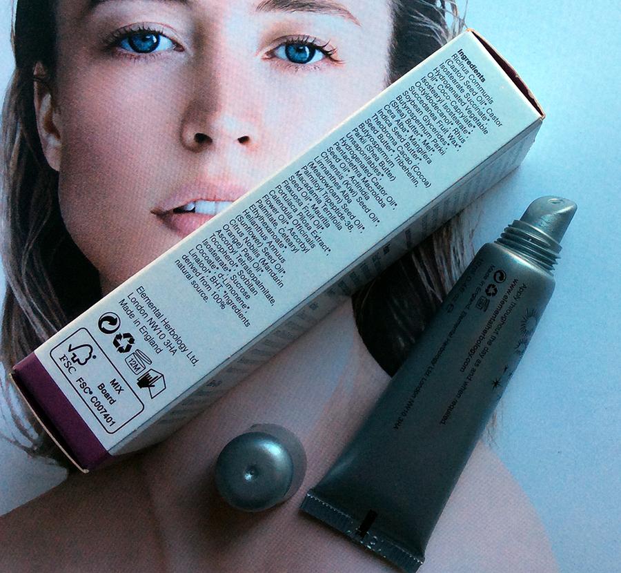 Elemental Herbology Nutritive Lip Complex lip balm review ingredients