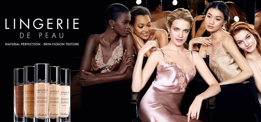 Guerlain Makeup Collection for Autumn 2016 lingerie de peau