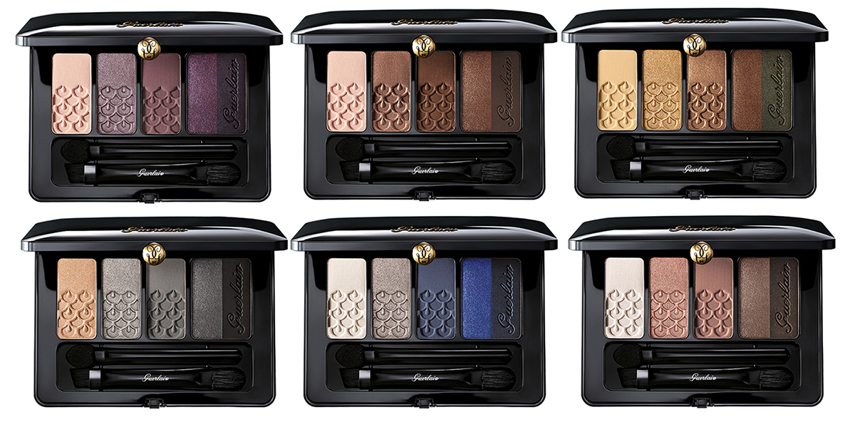 Guerlain Makeup Collection for Autumn 2016 palette 5 couleurs