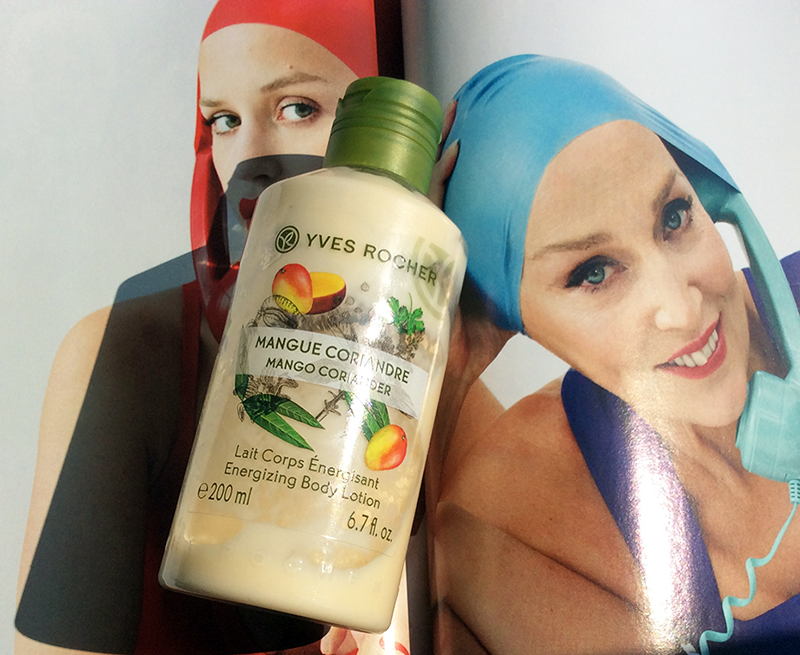 Yves Rocher Mango Coriander Energizing Body Lotion Review