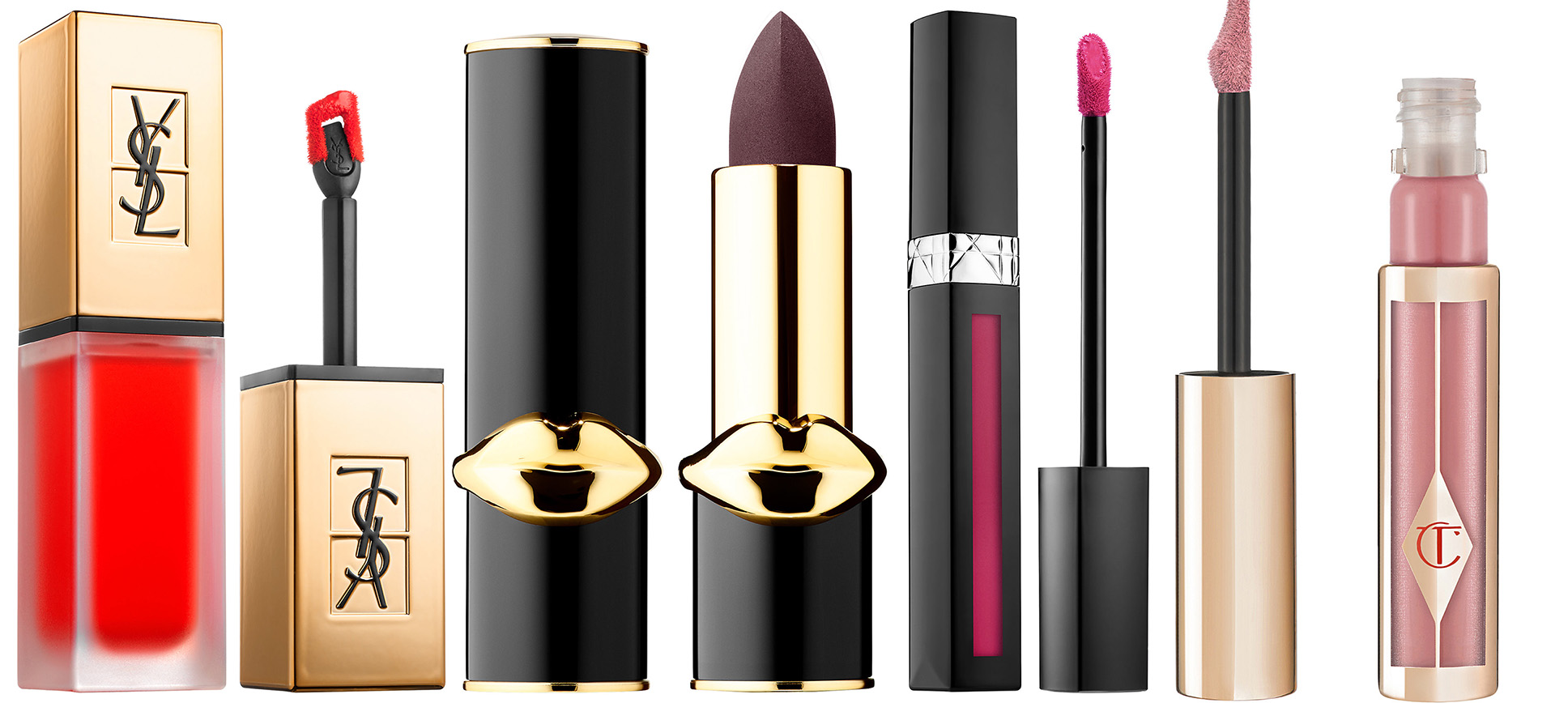Aw 17 Matte Lipsticks Ysl Dior Pat Mcgrath And